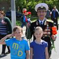 Празднование Дня Победы в 2014 году на территории города Красногорска.